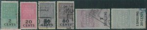 88777 - ERITREA  BOIC - REVENUE STAMPS - Small lot, some not in Barefoot !