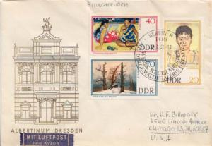 Germany D.D.R., First Day Cover, Art