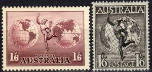 Australia #C5-6 F-VF Unused CV $10.75 (X3281)