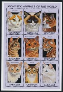 Grenada 2628 MNH Domestic Cats