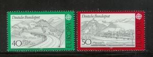 Germany 1248-1249 Set MNH Europa (E)