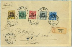BK0336 - TOGO Anglo-French occupation  POSTAL HISTORY -  REGISTERED COVER  1916
