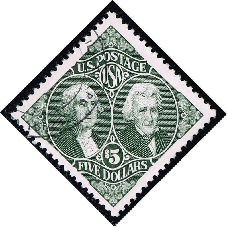US #2592 Washington and Jackson; Used (2.50)