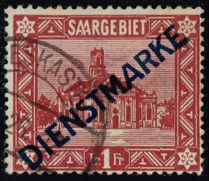Saar #O15 St. Ludwig's Cathedral; Used (17.00)