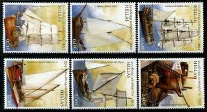 HERRICKSTAMP GREECE Sc.# 2548-53 2012 Sailships