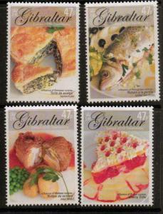 GIBRALTAR SG1125/8 2005 EUROPA MNH