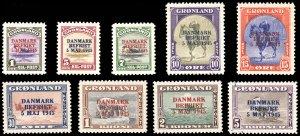 GREENLAND 19-27  Mint (ID # 96956)