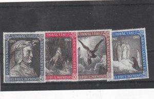 san marino mnh  stamps  Ref 9283