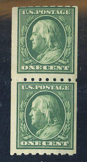 390 MINT Pair Fine OG NH Cat$22.5