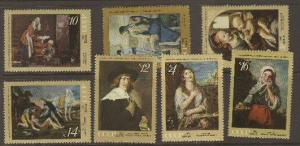 Russia #3867-73 MNH (paintings)