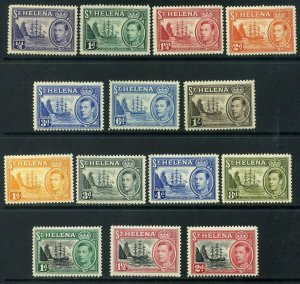 ST HELENA 1938-49 SG131-137 & SG149-151 Mounted Mint