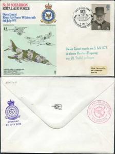 RAF34d No.20 Squadron RAF Standard Cover