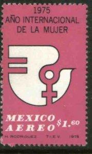 MEXICO C456, International Womens Year.  MINT, NH. F-VF.