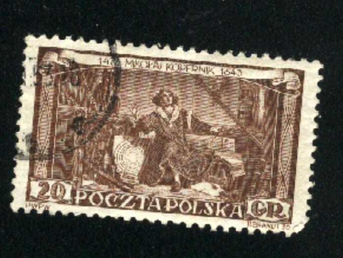 Poland 578  u VF   1953 PD