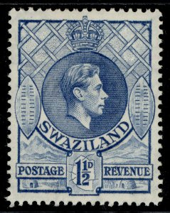 SWAZILAND GVI SG30a, 1½d light blue, M MINT.