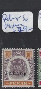 MALAYA  PAHANG  (P1412B) TIGER 10C  SG 19  MOG