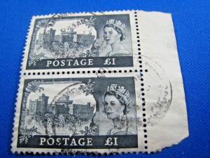 GREAT BRITAIN - SCOTT # 312  -  Used   (alb20)
