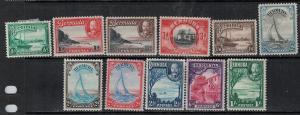 Bermuda 1936-1940 SC 105-114 Mint SCV$ 74.00 Set