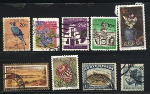 South Africa 29,200,258,262,264,532,1209   used  PD