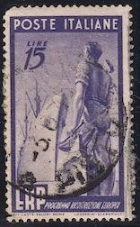 Italy, #516, used