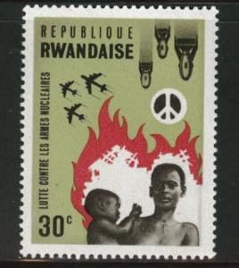 RWANDA Scott 171 MNH** Peace stamp