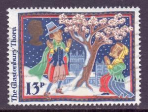 GB Scott 1163 - SG1342, 1986 Christmas 13p used