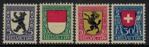 Switzerland #B29-32* NH  CV $6.50