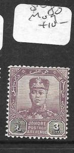 MALAYA JOHORE (P2311B) 3C  SG 80   MOG