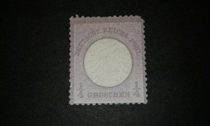 Germany #14 unused no gum e204 8679