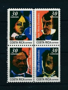 [104417] Costa Rica 1996 175 Years Independence  MNH
