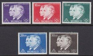 Monaco C84-8 Prince Rainier Air Post mnh