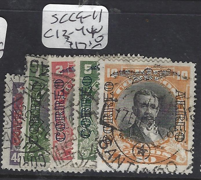 CHILE  (PP0701B)  TELEGRAPH STAMPS LOT OF 16  DIFF   VF LOT