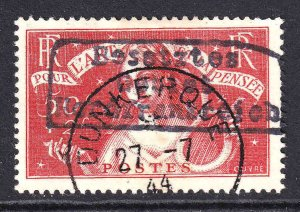 FRANCE B43 DUNKERQUE OVERPRINT + CDS VF FROM €650 SPINK/MAURY CV ***