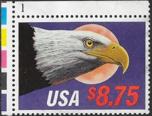 US 2394 Used Plate Number Single - $8.75 Express Mail - Eagle