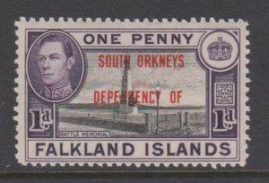 Falkland Islands Sc#4L2 MH