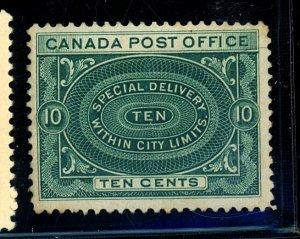 CANADA #E1 MINT FVF NG Cat $125