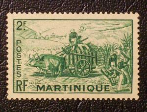 Martinique Scott #223 unused