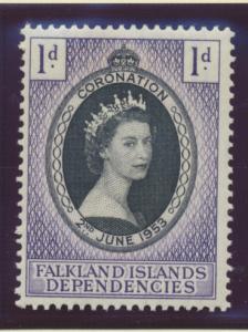 Falkland Islands Dependencies Stamp Scott #1L18, Mint Hinged - Free U.S. Ship...