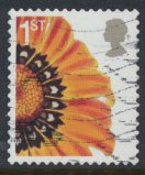 Great Britain SG 2567  SC# 2314  Used Smilers Booklet Flower