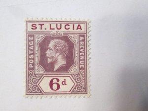 Saint Lucia #59 MH 2019 SCV = $2.25