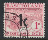 Basutoland  Postage Due  SG D5  Used
