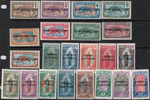 Ubangi 1915-1922 SC 1-22 Mint SCV $152.75 Set