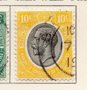 Tanganyika 1927 Early Issue Fine Used 10c. 269598