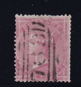 GB Scott # 25 F-VF used neat cancel ( SG # 64 ) nice color cv $ 400 ! see pic !