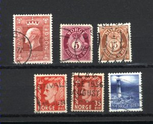 Norway #78,83,312,323,539,692   used PD