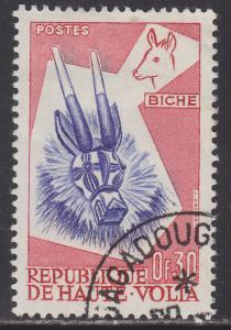 Burkina Faso 71 Deer Mask 1960