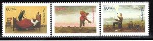 Netherlands Scott # B702 - B704, mint nh