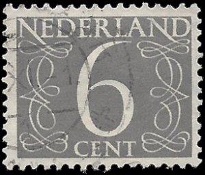 Netherlands #342 1954 Used