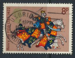 Great Britain SG 960   - Used   - Medieval Warriors