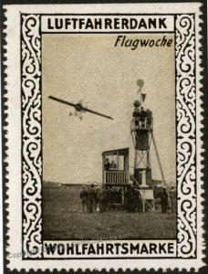 Germany Flight Week WWI Air Force Memorial Luftfahrerdank Flight MNH  Ci G102811